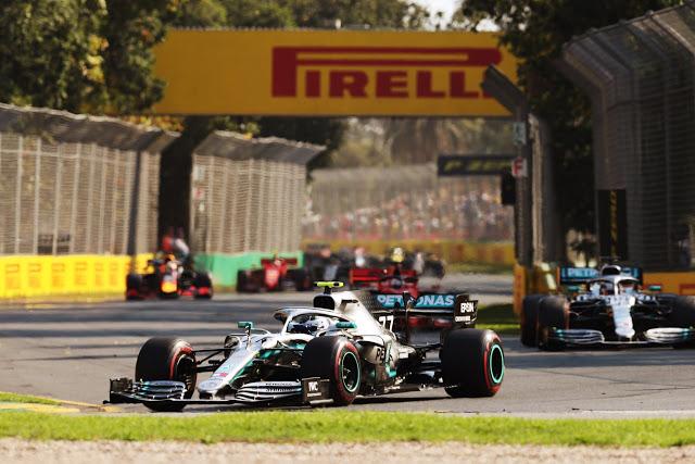 F-1: Bottas vence Hamilton, Ferrari decepciona na Austrália