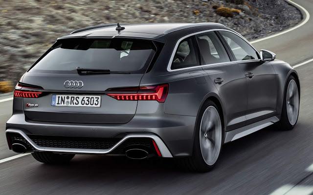 Truculenta, Audi RS6 Avant 2020 tem 600 cv e vai a 306 km/h