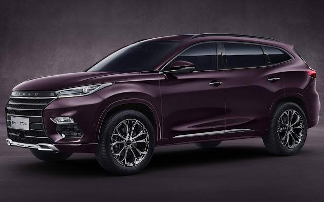 Chery apresenta o EXEED TXL: SUV premium - China